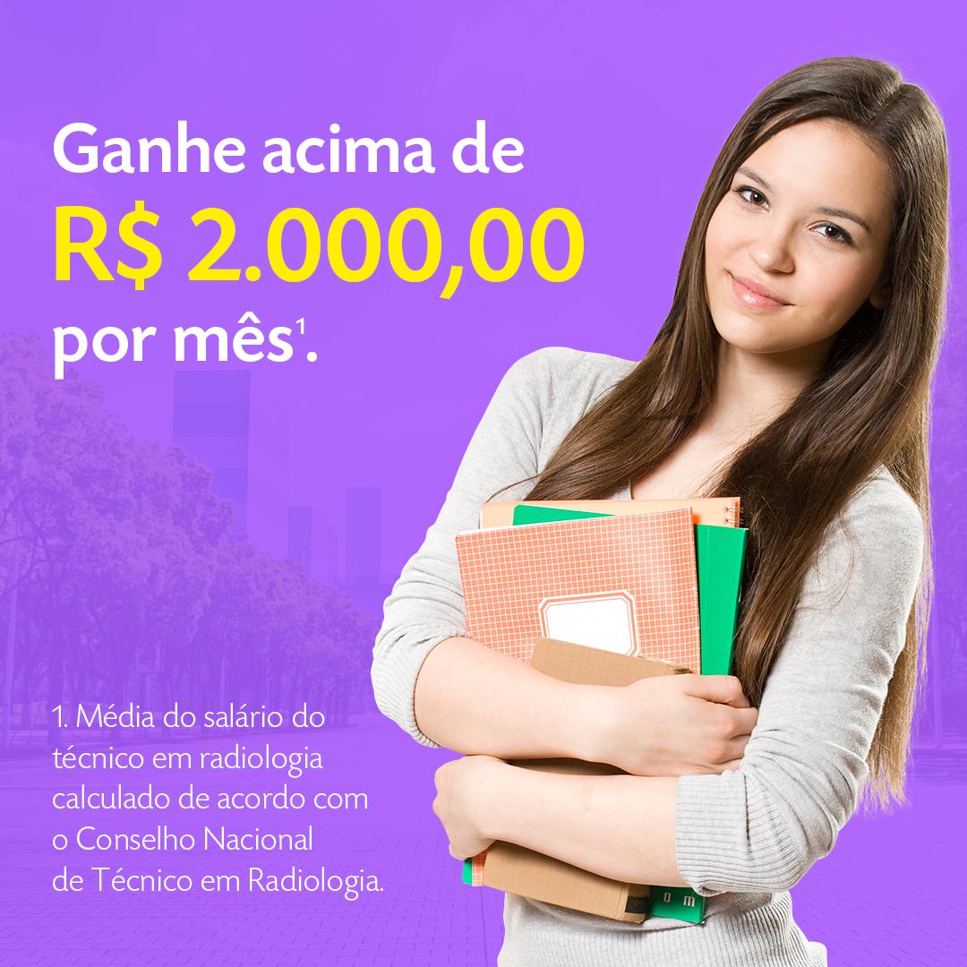 Ganhe acima de R$ 2.000,00